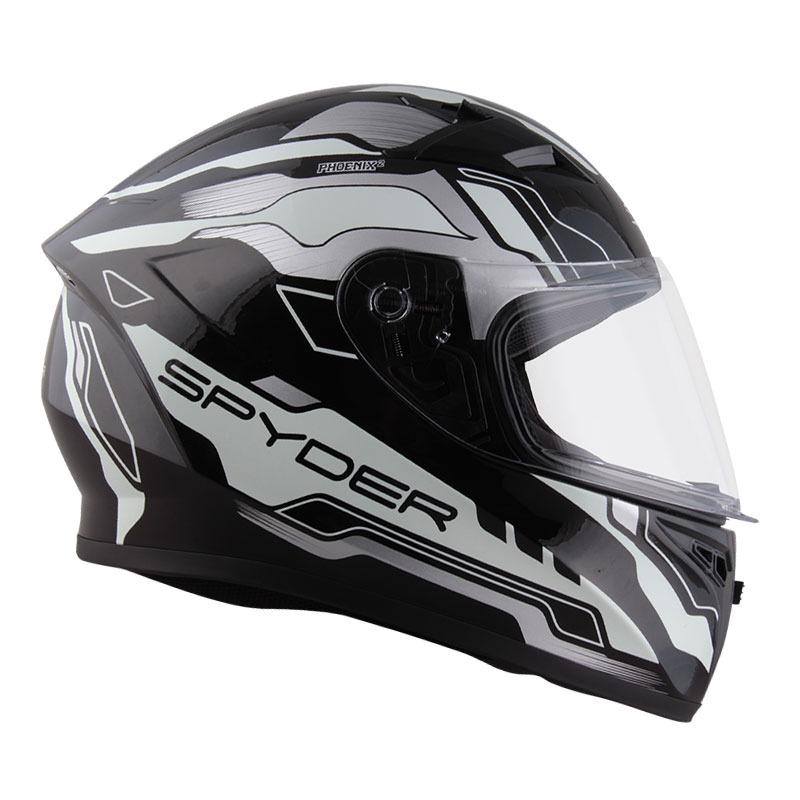 d40b52d70c Spyder Full Face Helmet Phoenix 2.0 Series 3 (Luminous Series) -Shiny
