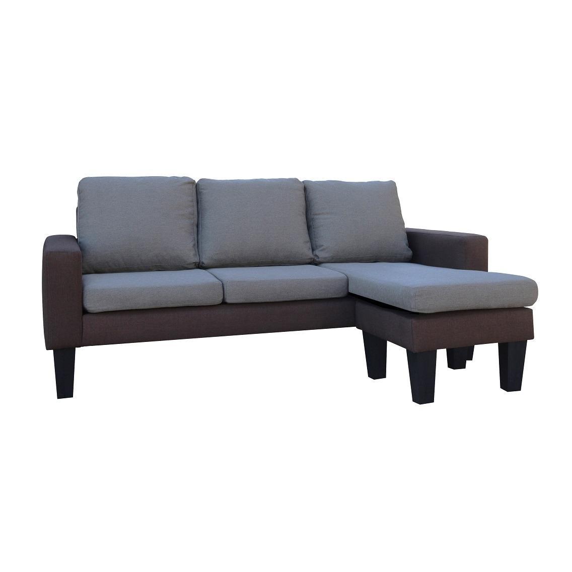Ihome Genesis L Shape Sofa Set