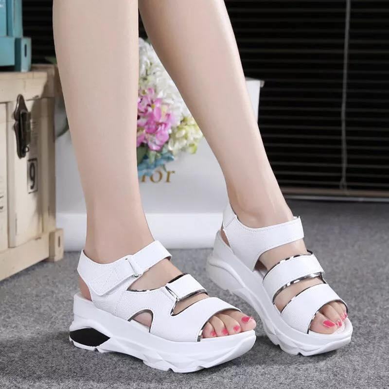 90c93bfd5325 Wedge Sandals for sale - High Sandals for Women online brands ...