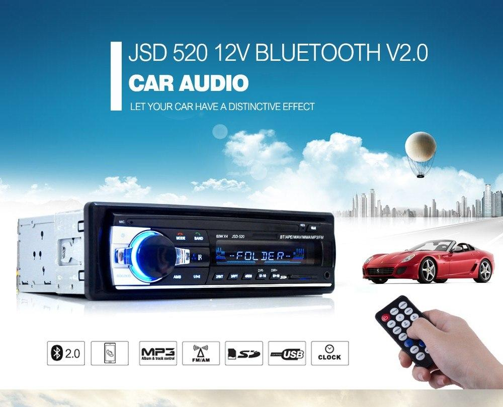 Car Stereo For Sale Cars Online Brands Prices Sound System Diagram Diy Audio With Digital Bluetooth Single Dash 12v Fm Receiver Mp3 Radio Player