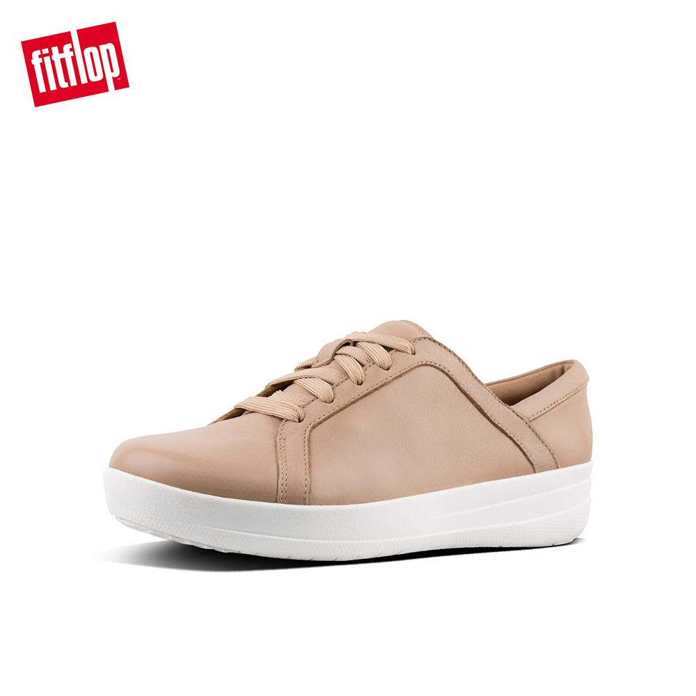 94ae94d8c52eac FitFlop Women s Shoes L82 F-SPORTY II LACE UP SNEAKERS - LEATHER ATHLEISURE  lightweight comfort