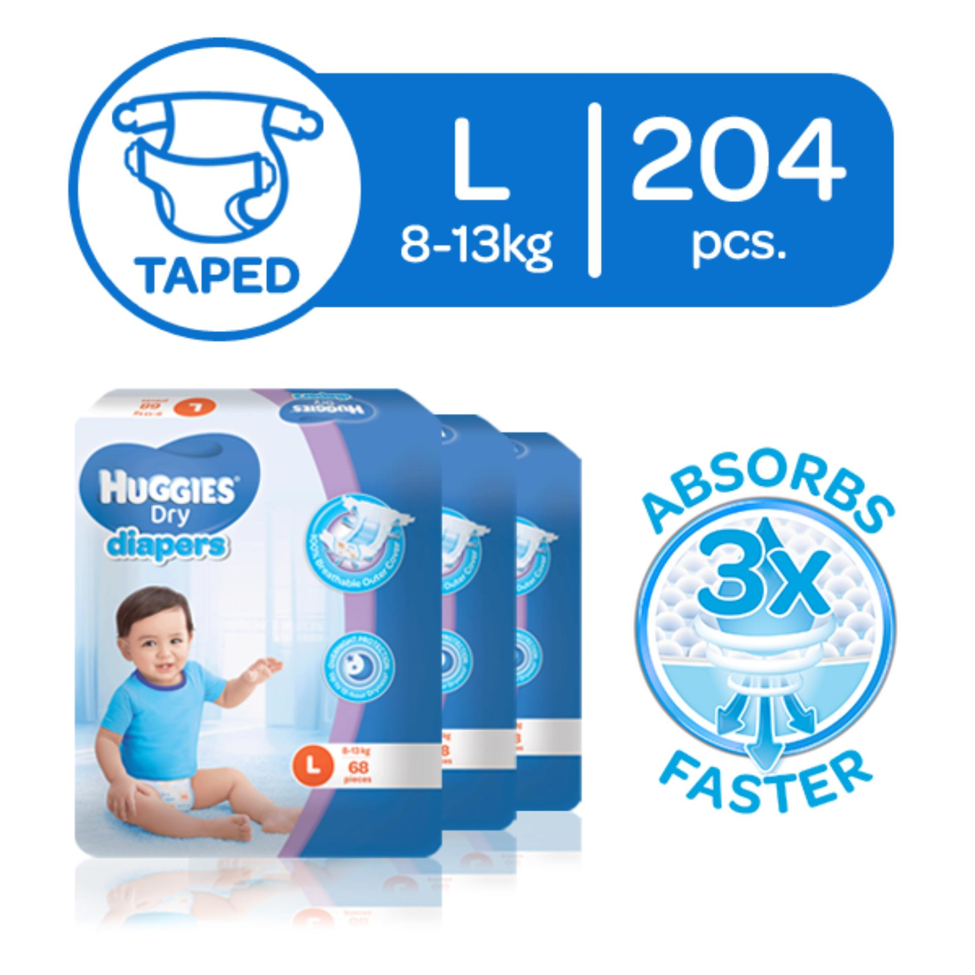 Disposable Diaper For Sale Nappies Online Brands Pampers Premium Care Tape Nb 52 Huggies Dry Large 8 14 Kg 68 Pcs X 3 Packs