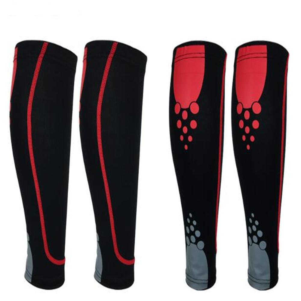 3075953800a Unisex Sports Leg Protection Breathable Pressure Sleeve Running Football  Basketball Warm Knee Socks(Single)