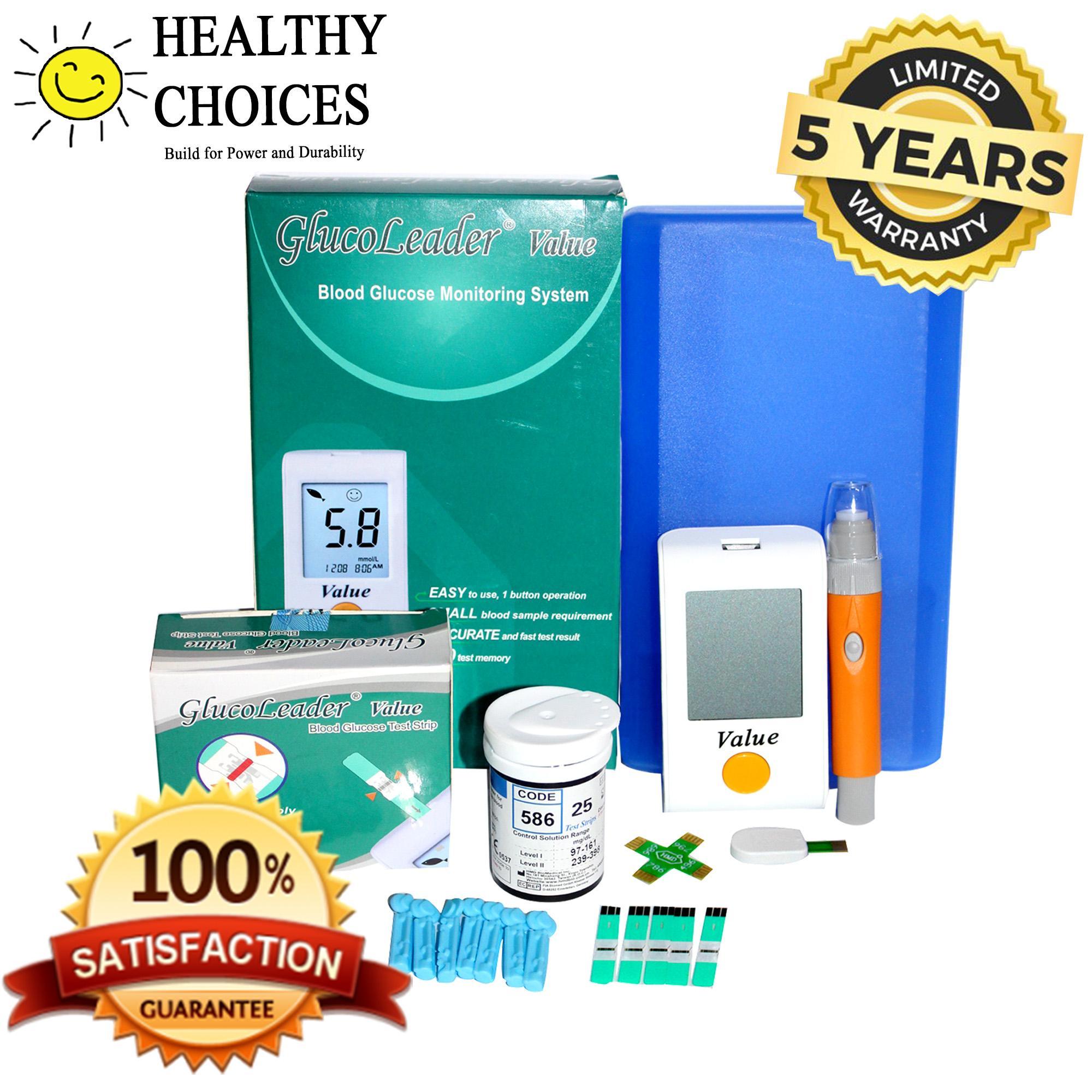 Glucose Level Brands Analyzer On Sale Prices Set Strip Gluco Dr Bio Sensor Glucoleader Value Blood Meter W Test