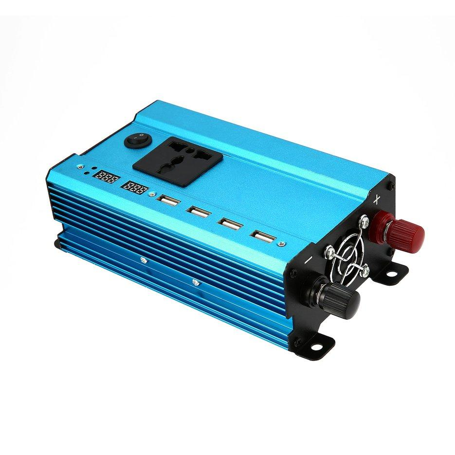 Car Inverter For Sale Power Converter Online Brands Prices Wiring Diagram 1500 Get Free Image About Wond Professional 3000w Dc To Ac Home Fan Cooling Blue 12v