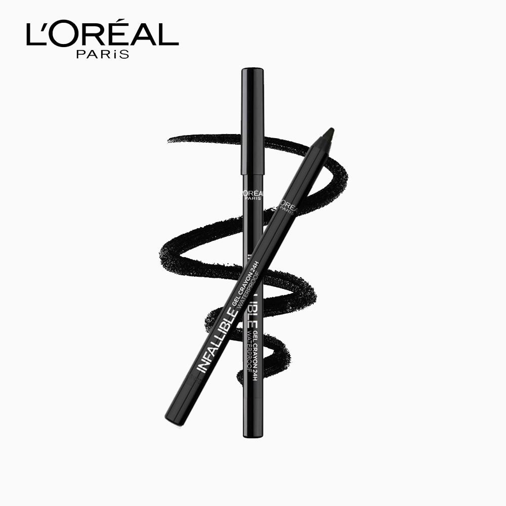 LOréal Paris Infallible Gel Crayon 24H Waterproof Eyeliner - Back to Black Philippines