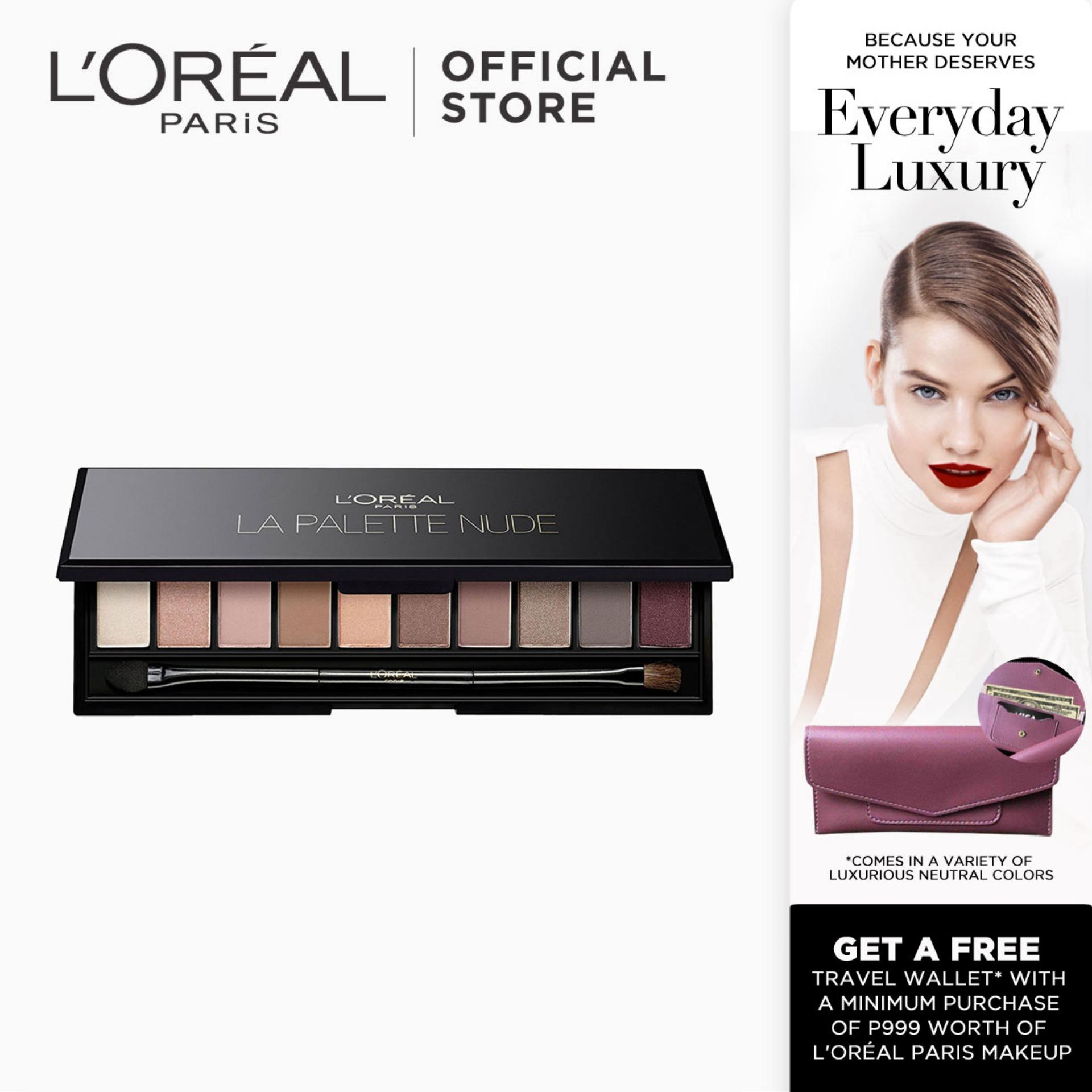 La Palette Sophisticated Eye Shadow Palette - Nude Rose 02 by LOréal Paris Color Riche Philippines