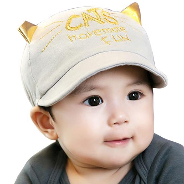 Kids Baby Sun Baseball Cap Hat Toddler Summer Beach Hat Boys Girls 6-24 Months