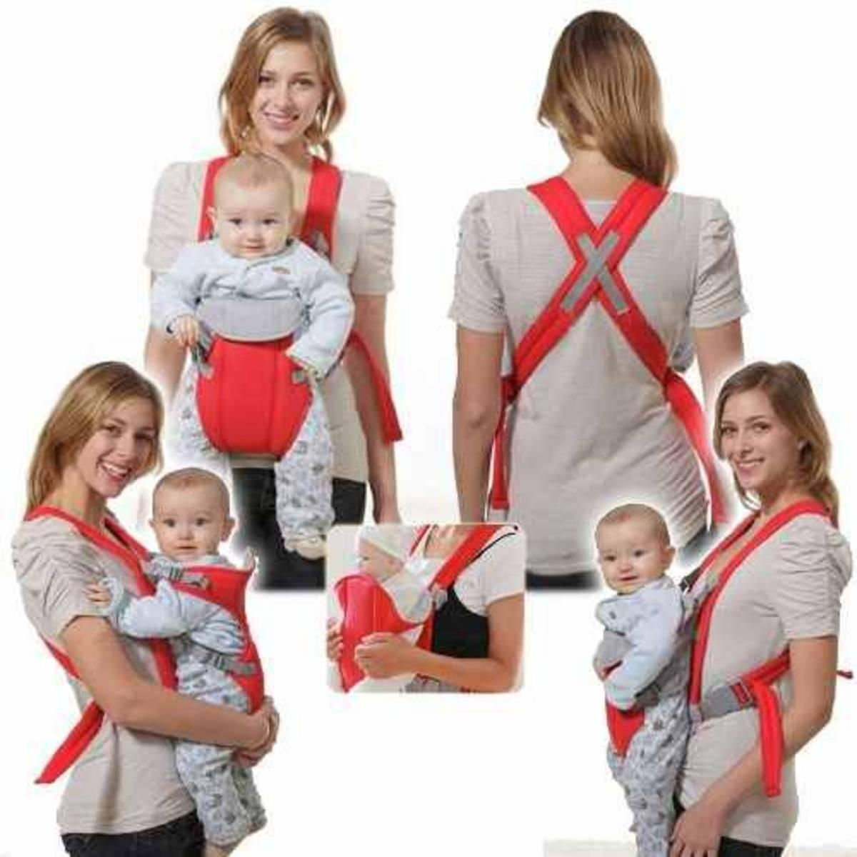 1ad24f0f2385f Infant Baby Carrier Newborn Cradle Kids Sling Wrap Pouch Bag Baby Kangaroo  New Breathable Adjustable Front
