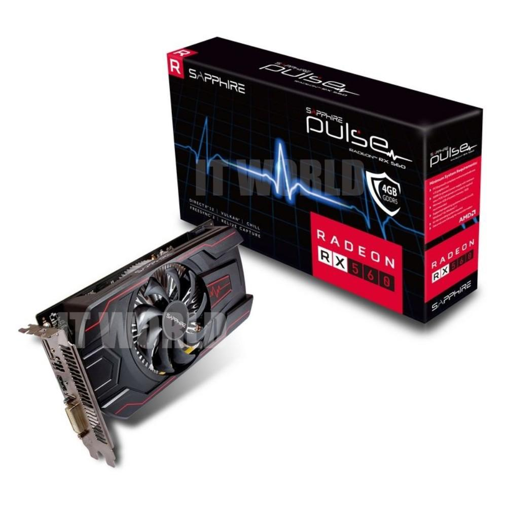 Sapphire Pulse Rx550 4gb Buy Sell Cheapest Radeon Best Quality Product Deals Rx 560 Gddr5 Hdmi Dvi D Dp Overclock