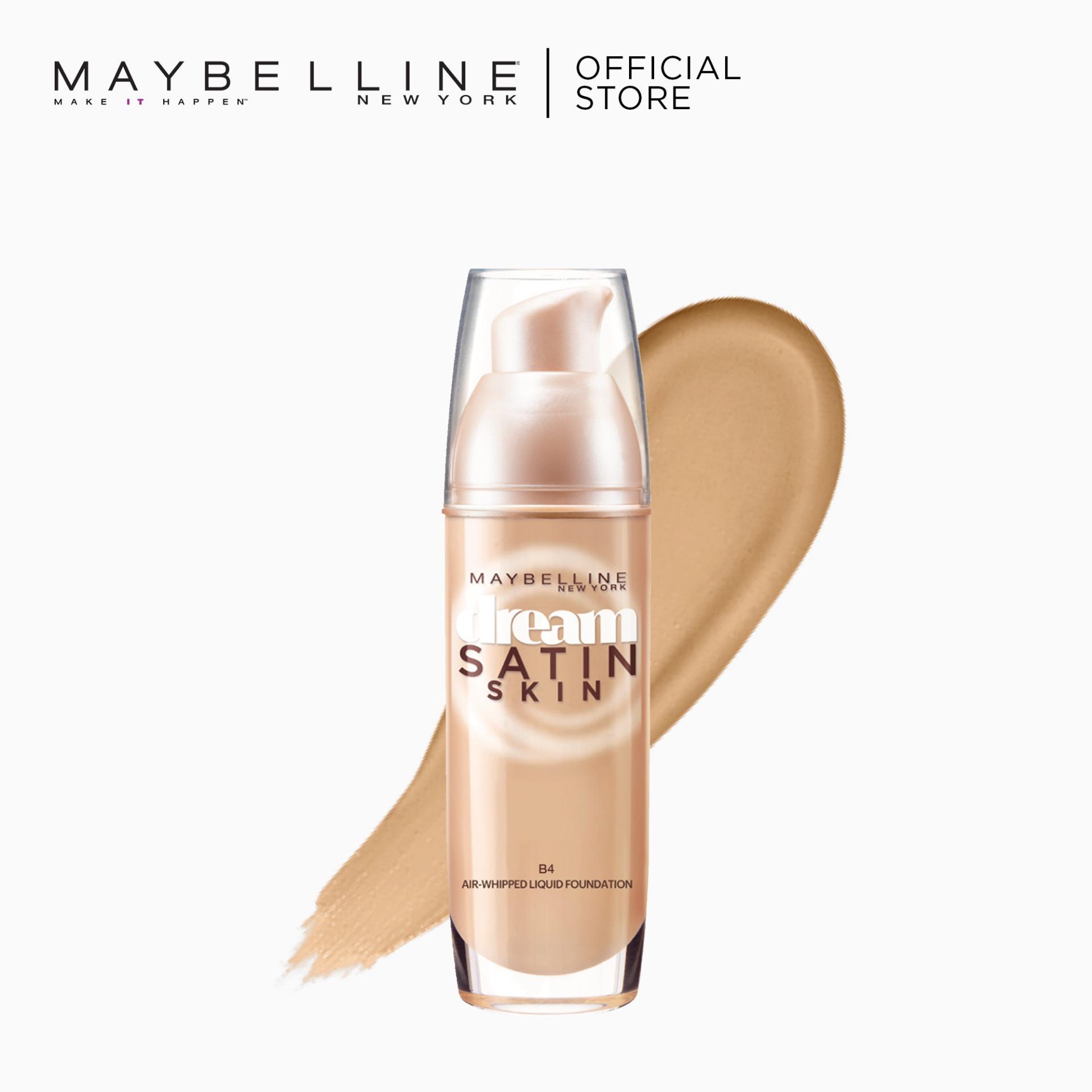 Maybelline Dream Satin Skin Liquid Foundation 30 mL - B4 Back to Basics Foundation Philippines
