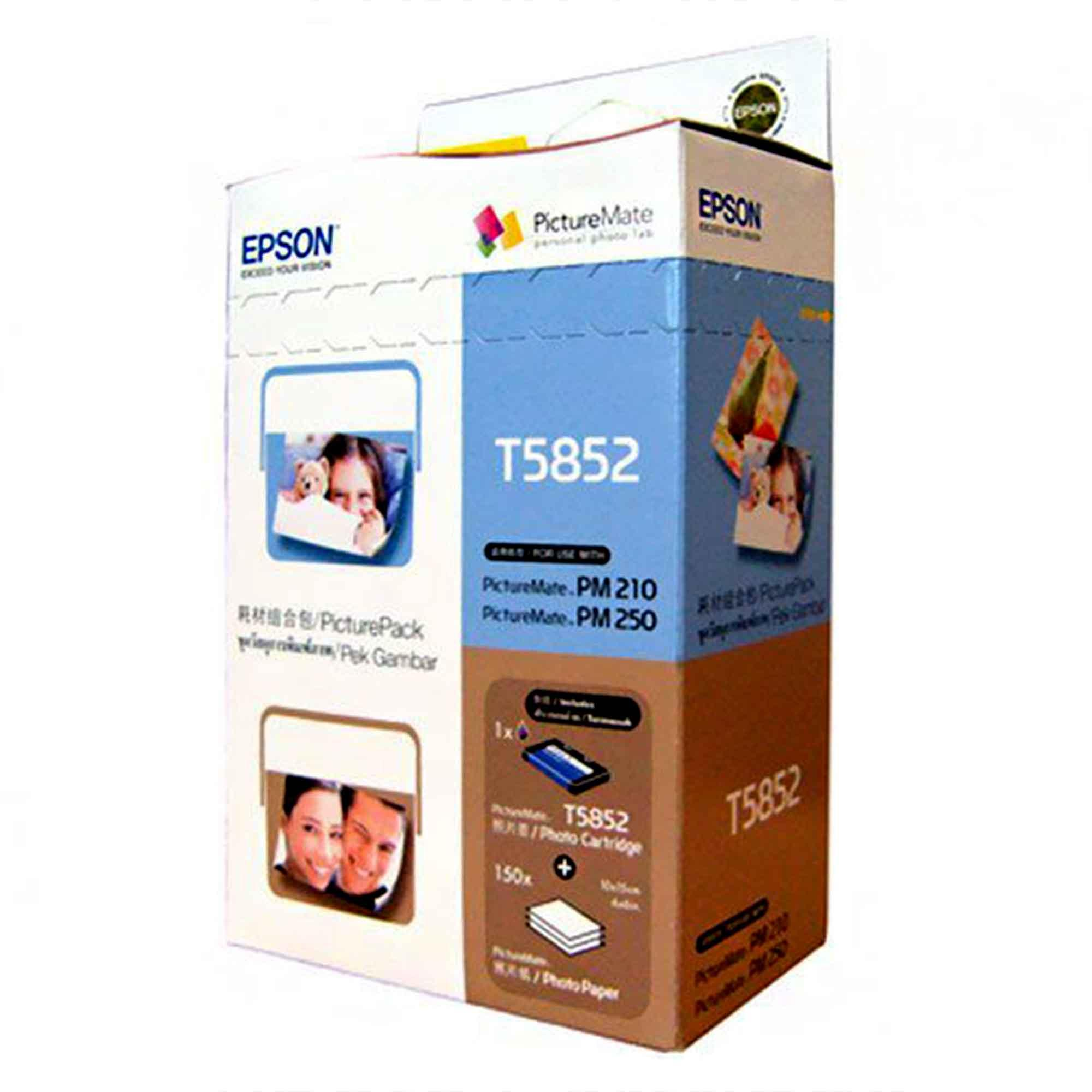 Epson Philippines Ink Cartridges For Sale Prices Reviews Lazada Original Tinta Botol Set T6641 T6644 T5852 T 5852 And Paper Cartridge Compatible Picturemate Printers