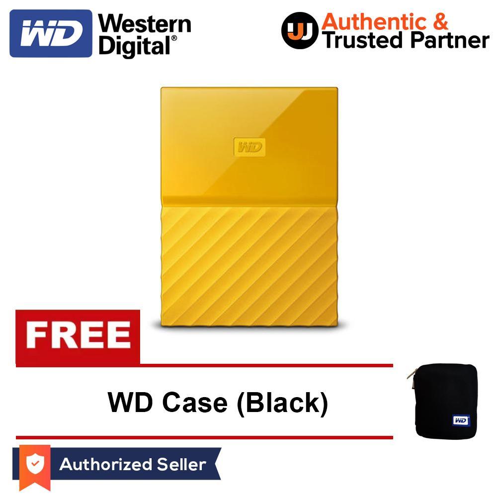 Promo Harga Wd My Passport New Design Portable Hard Disk Eksternal Design1tb 25inch Usb30 Kuning Free Pouch Ori Pen 2tb Black Daftar Putih