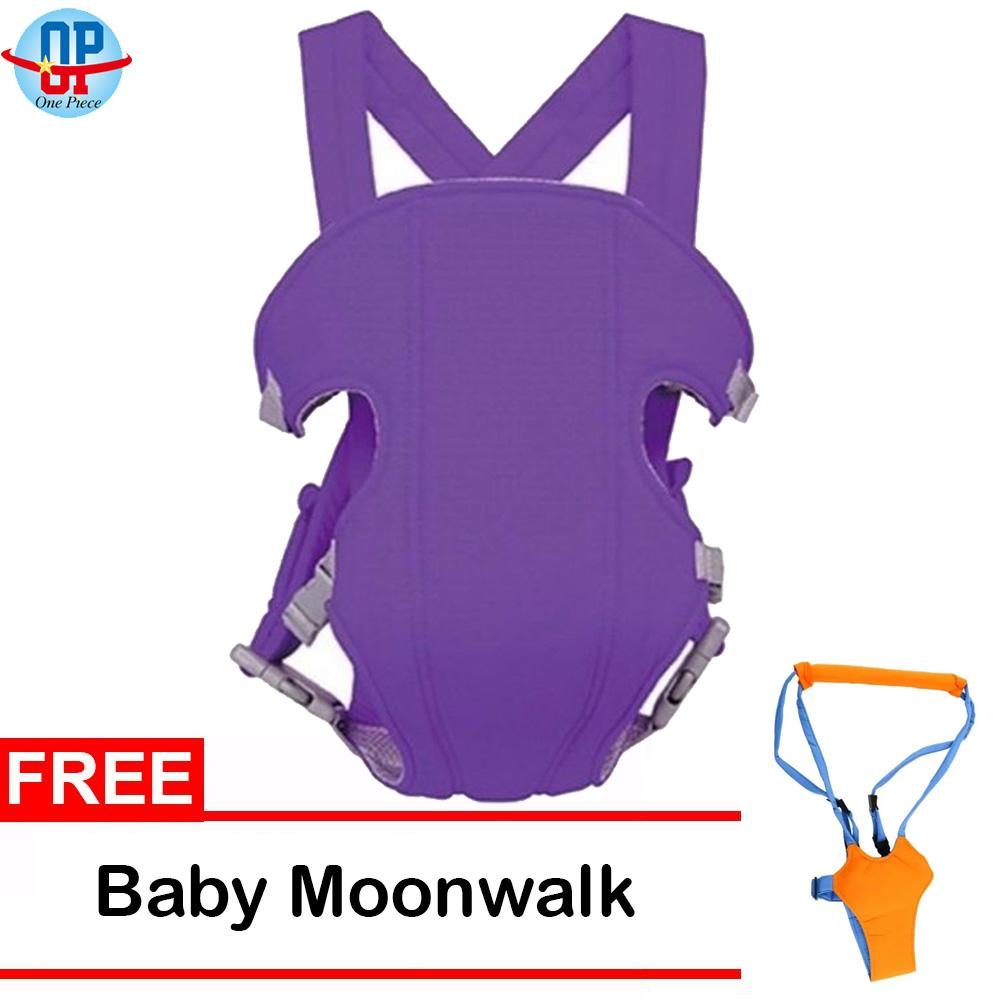 Adjustable Straps Baby Carrier with Free Baby Moonwalk