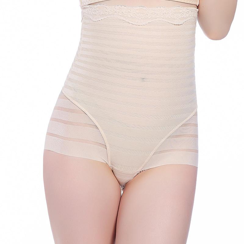Tummy Control Briefs Pants Underwear Slimming Women Sheer High Waist Knickers