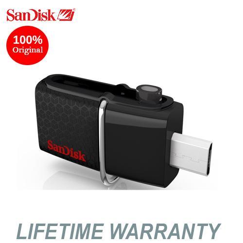 SanDisk SDDD2 Ultra Dual USB 3.0 32GB OTG Flash Drive(Black)