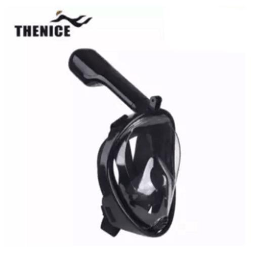 Full Face Snorkeling Mask For GoPro & Action Cameras S/M