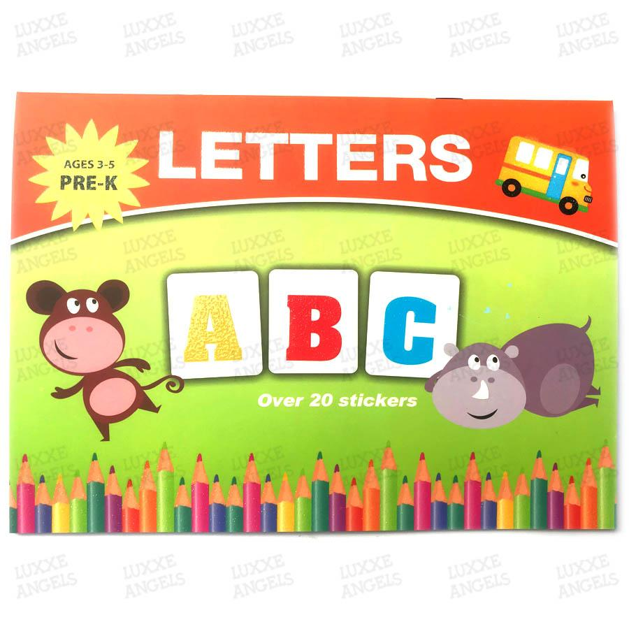 Letters Abc Childrens Workbook By Luxxe Angels.