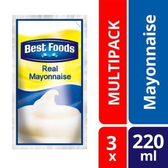 Best Foods Regular Mayonnaise Doy 3x 220ml
