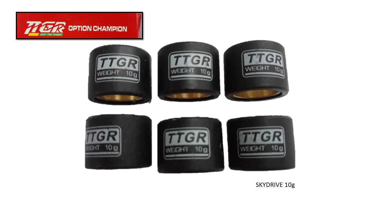 Ttgr Motorcycle Pulley Ball Skydrive 10g (6 Pcs) By Mixies Shoppers Center.