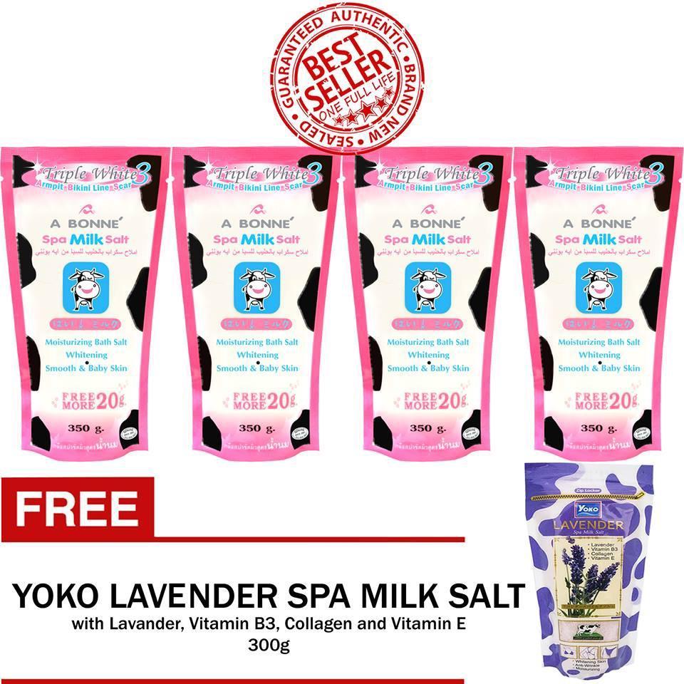 Body Scrubs Brands Bath Scrub On Sale Prices Set Reviews In Lulur Spa Cream 100gr Green Tea A Bonne Milk Salt 350g X 4 Sets With Free Yoko Lavender