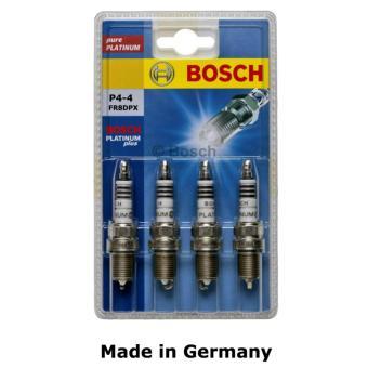Bosch Platinum Spark Plug for Nissan Sentra 1.5 B15 (2004 model up) FR8DPX Set of 4