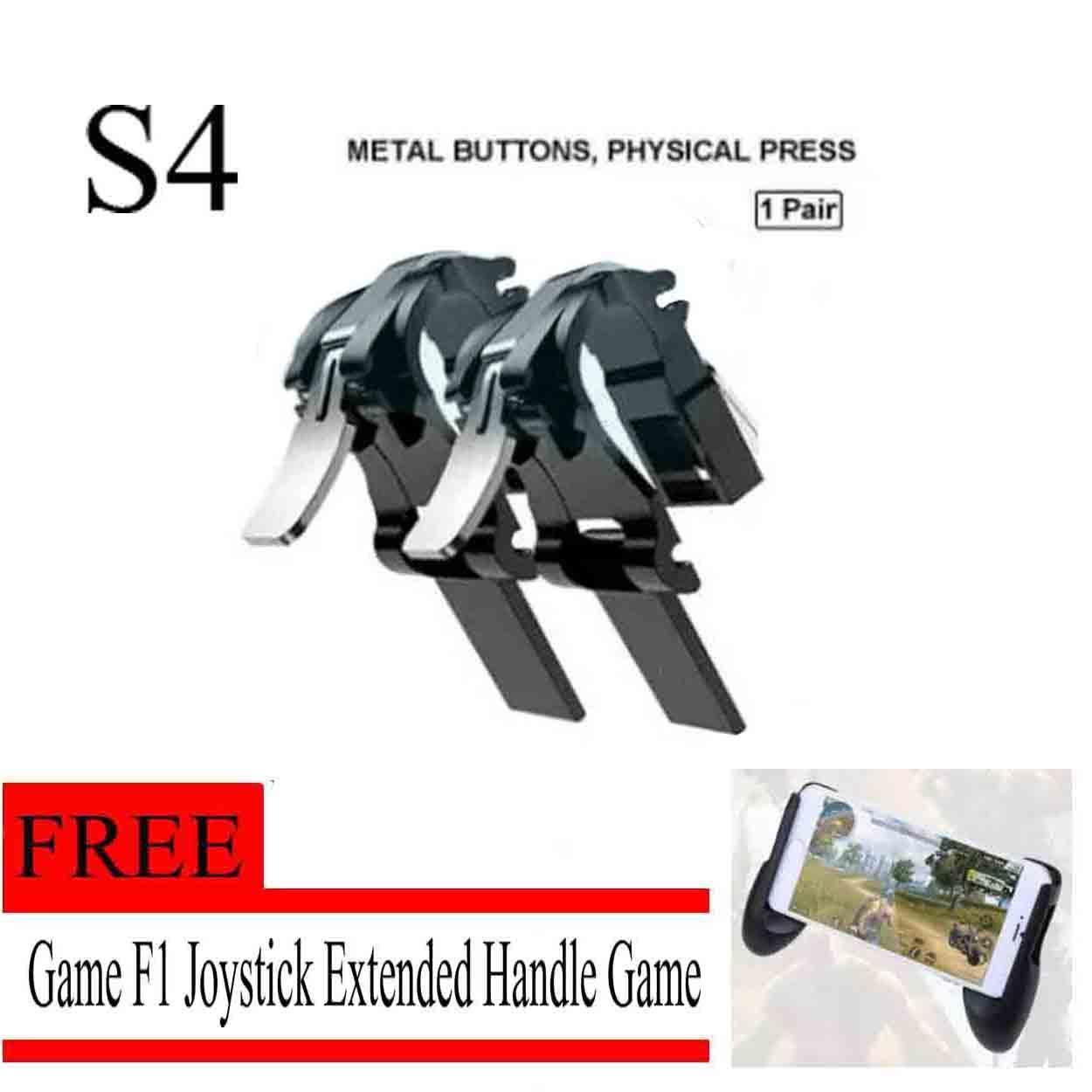 Ps Controller For Sale Dual Shock Prices Brands L1 R1 Sharp Shooter Pubg Mobile Joystick Rule Of Survival Versi 3 S4 L1r1 Sharpshooter Trigger Buttons Sensitive Shoot Physical Game Aim