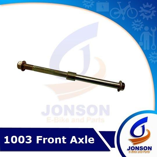Front Axle For E-Bike By Jonson E-Bike And Spare Parts.