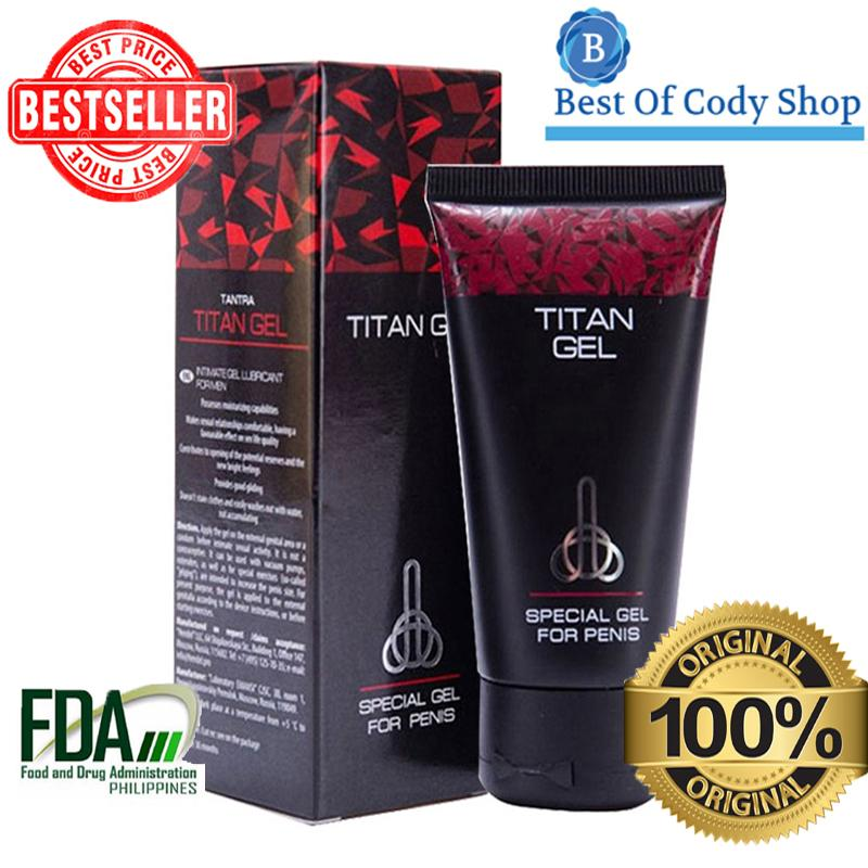 Great Sale With Free Item 100 Authentic Original Best Of Cody S New Batch Titan Gel For Men With English And Tagalog Instructional Manual And
