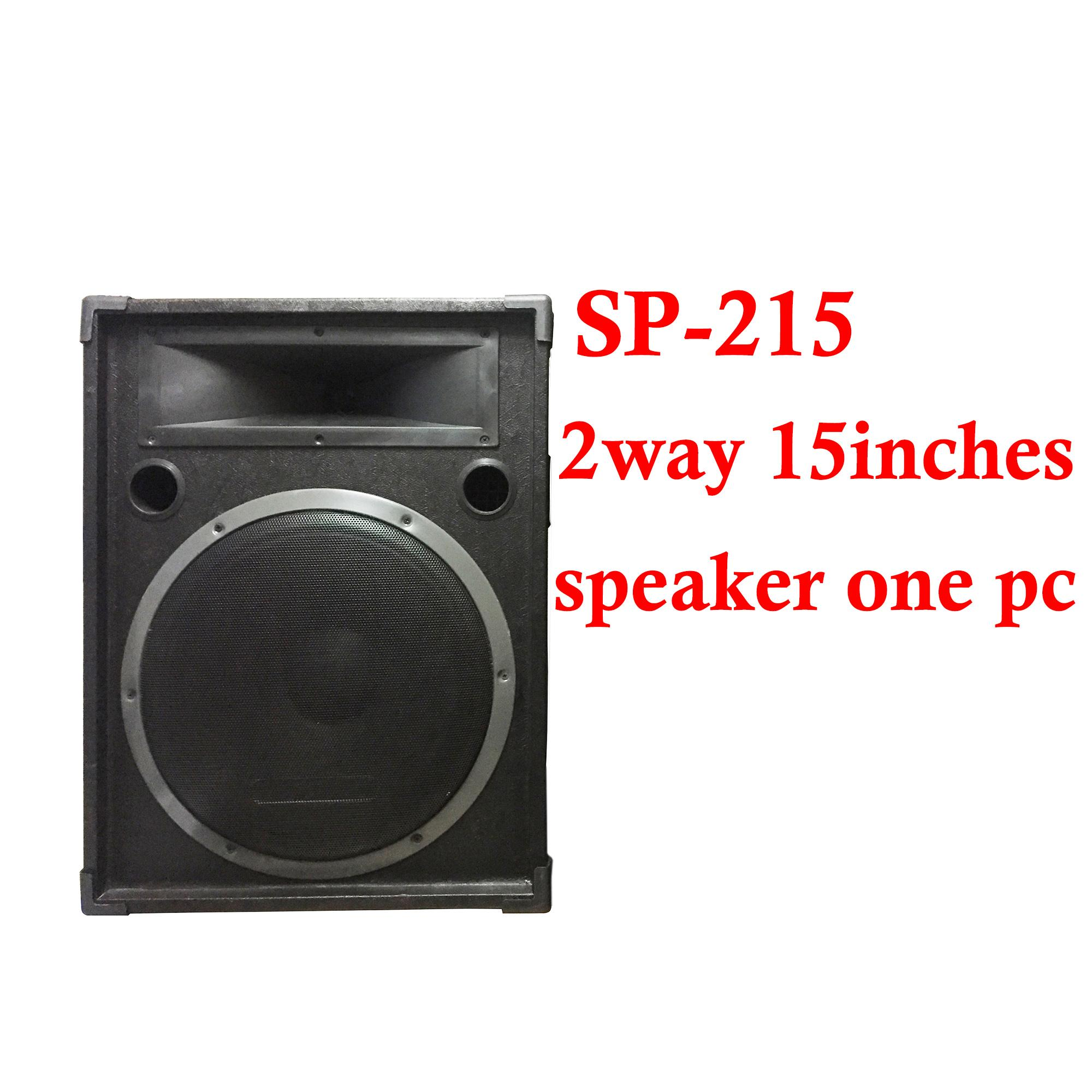 Subwoofer For Sale Speaker Prices Brands Specs In Powered Wiring 300w Power Amplifier Jms Sp 215 15inches 2way Black