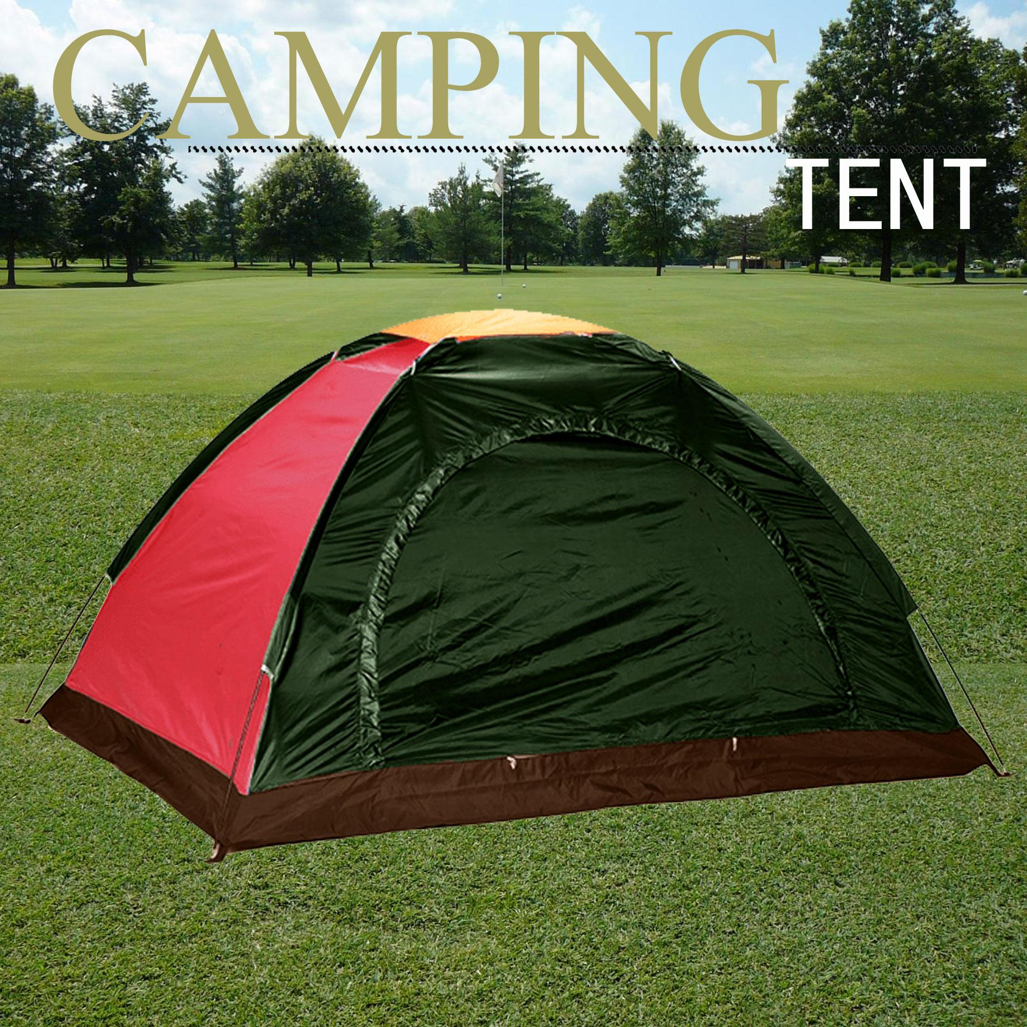 newest 60ba2 4b3e4 6-Person Dome Camping Tent (Color May Vary)