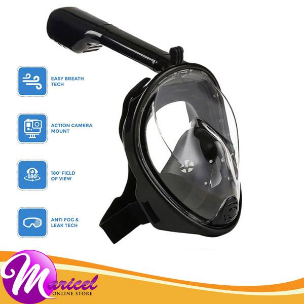 Manta / Thenice M2068G 180-Degree Full-Face High-Quality Silicone Material Revolutionary