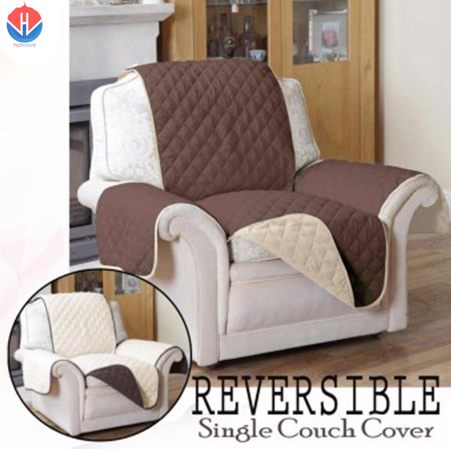 Couch Coat Reversible Sofa Cover (Single Seat)