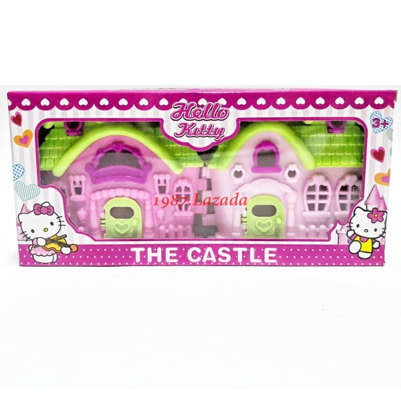 1987 My Dream Castle Doll House Play Set Fun Educational And Creative Toys For Girls