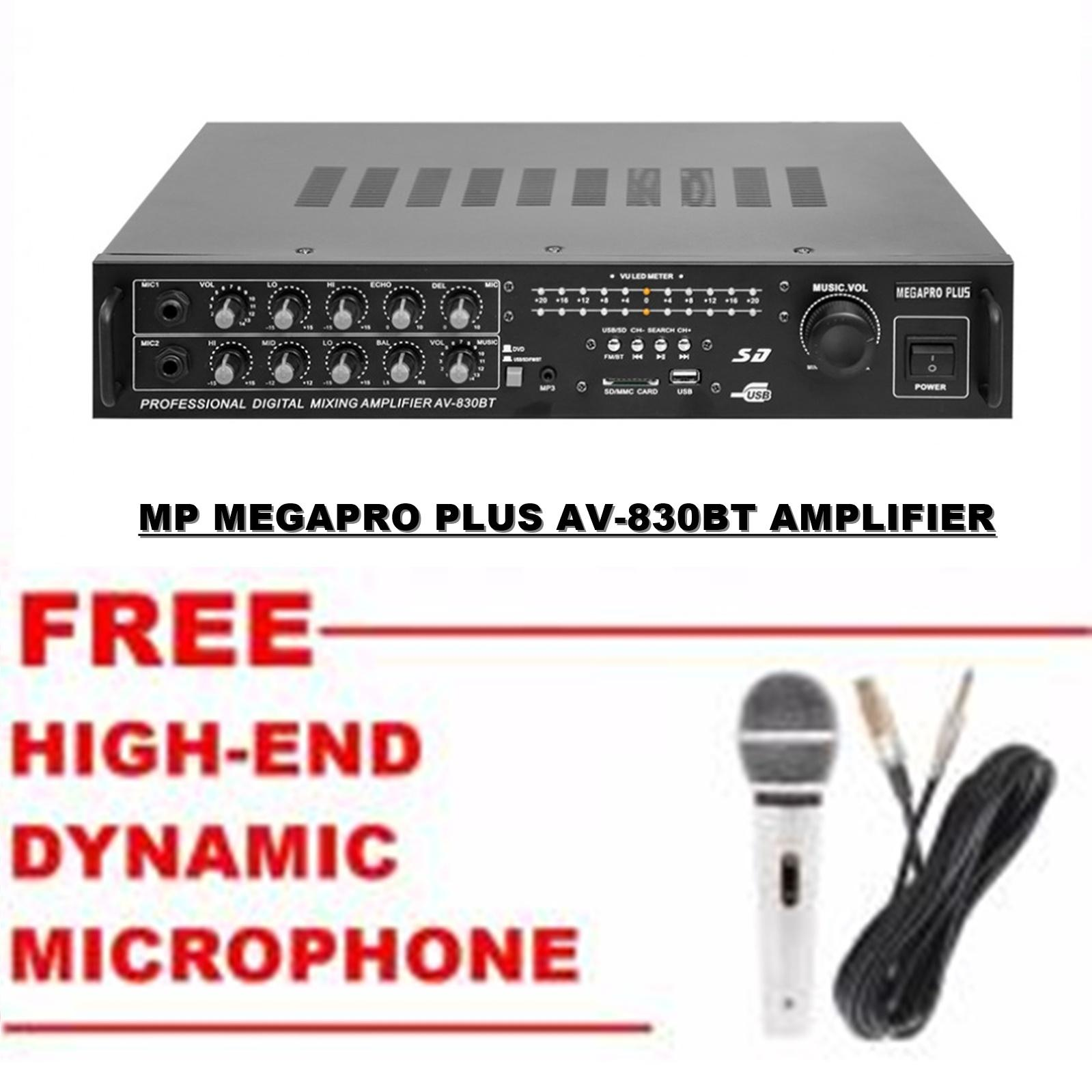 Audio Amplifier For Sale Av Receiver Prices Brands Specs In Lm386 As Btl Circuit Diagram Amplifiercircuit 830bt Mp Megapro Plus Power W Usb Sd Fm