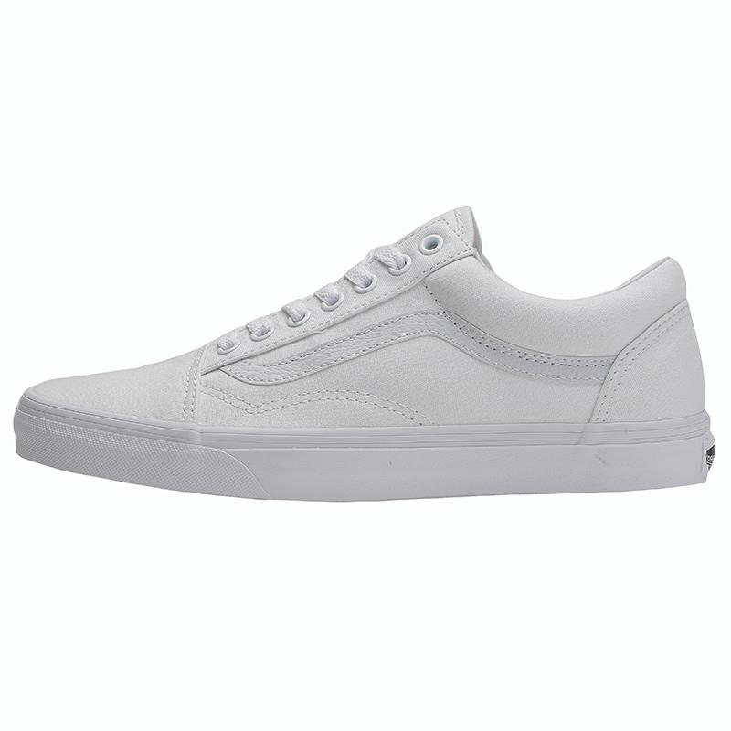 e58778c0c06 Classic Style Vans Men s Shoes Women s Shoes Low Top Old Skool Skateboard  Shoes White Shoes VN000D3HW00