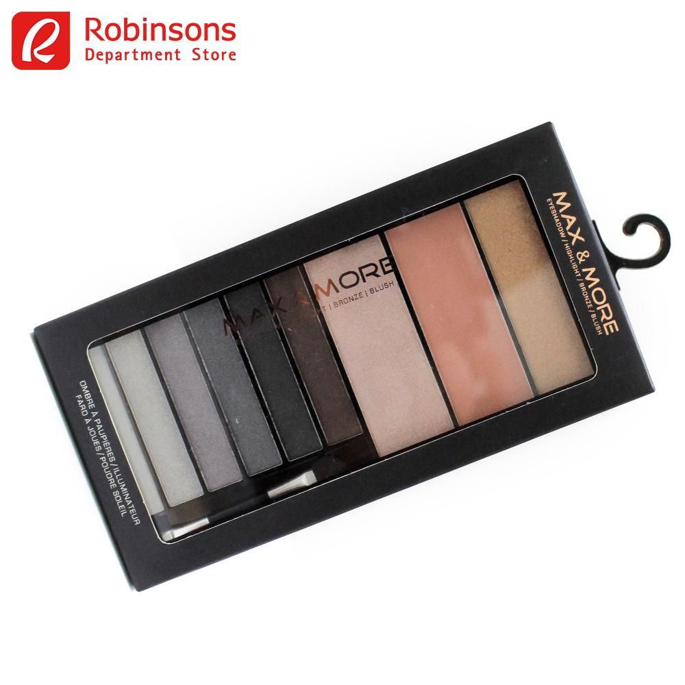 Max and More Eye and Cheek Palette Smokey Philippines