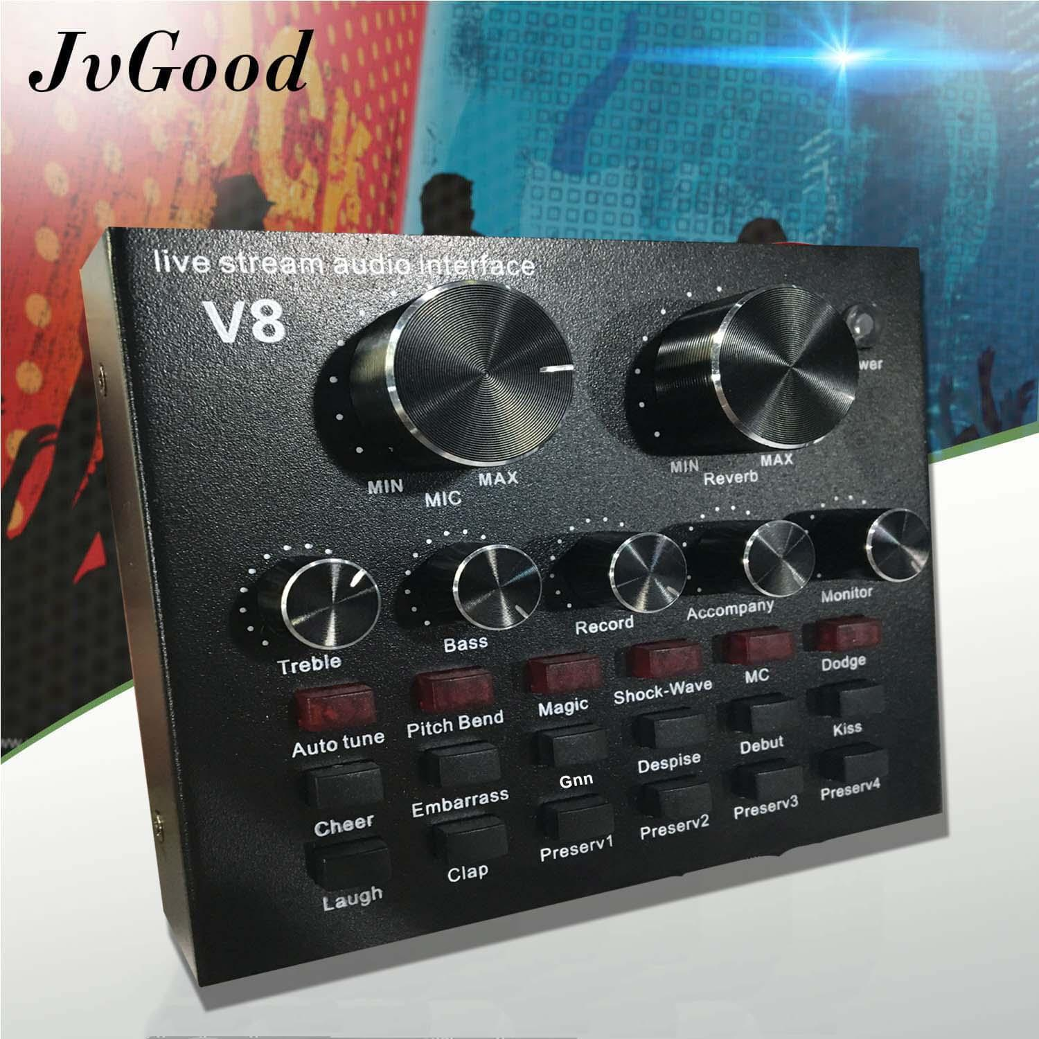 Mixers For Sale Audio Interface Prices Brands Specs In Ultra Sensitive Solid State Clap Switch Jvgood Mixer Karaoke Sound Compact Live Streaming With 12 Electric Sounds