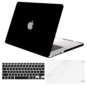 MacBook Case Only Compatible MacBook Pro (W/O USB-C) Retina 13 Inch (A1502/A1425) (W/O CD-ROM) Release 2015/2014/2013/end 2012 Plastic Hard Shell & Keyboard Cover & Screen Protector