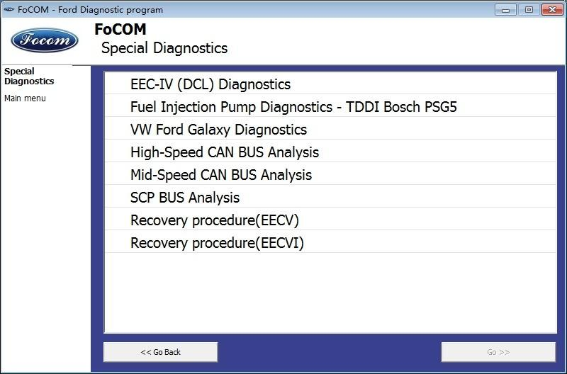 VGATE Ford VCM OBD Interface ECU IDS Program Diagnostic Auto Scan Tool