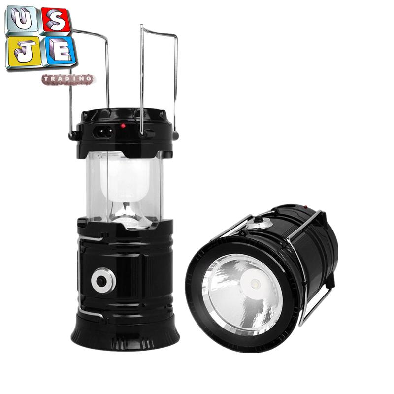5800t 6 Led Solar Camping Lamp Rechargeable Lantern By Usje Trading.
