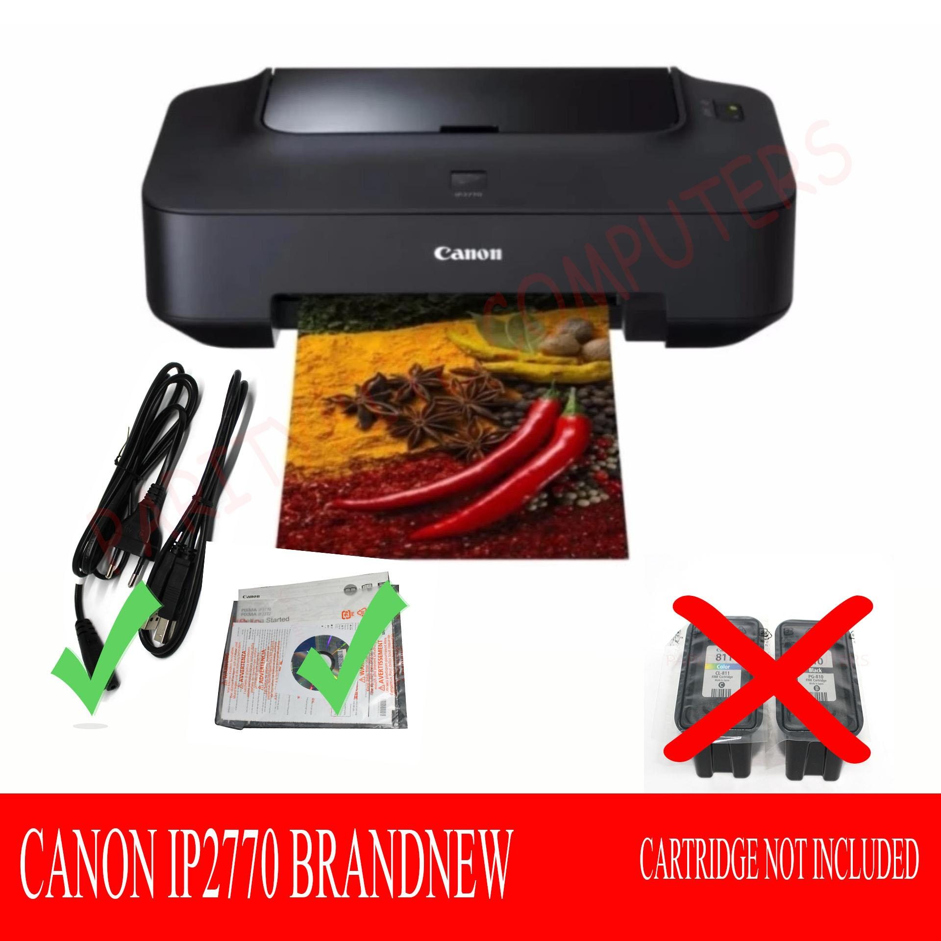 Buy Sell Cheapest Canon Ip 2770 Best Quality Product Deals Catridge 811 Cl811 Cl Katrid Ip2770 Mp237 Mp245 Mp258 Pixma Brand New No Ink Cartridges