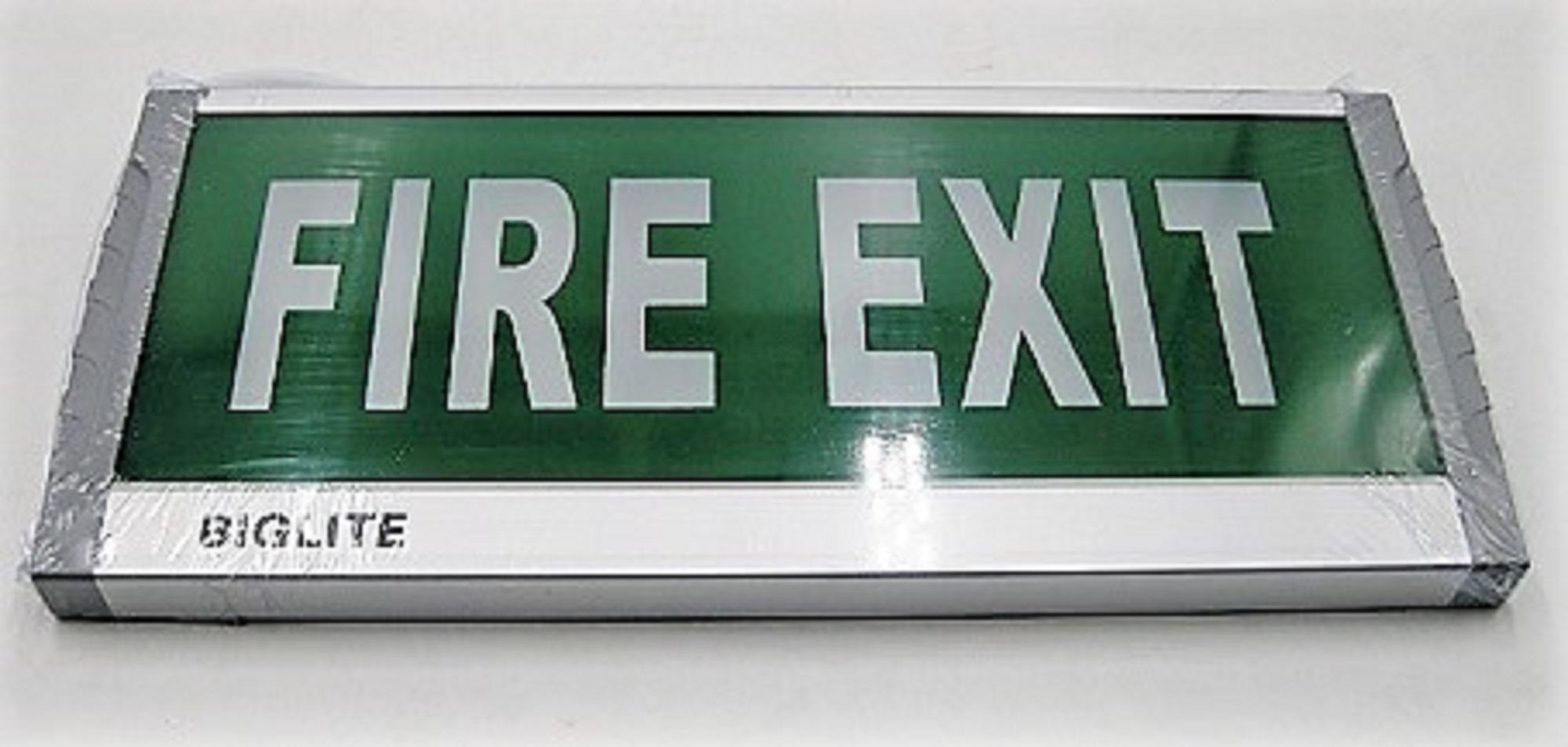 Biglite Fire Exit Signage JN-Z01 Modern/ Contemporary LED Lighting Philippines