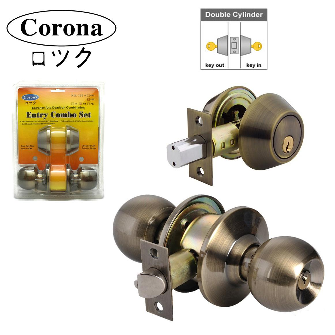Corona Philippines Price List Door Knob Deadbolt Lock Parts Home Diagram 722 800 Entrance Keyed And Double Cylinder Combination