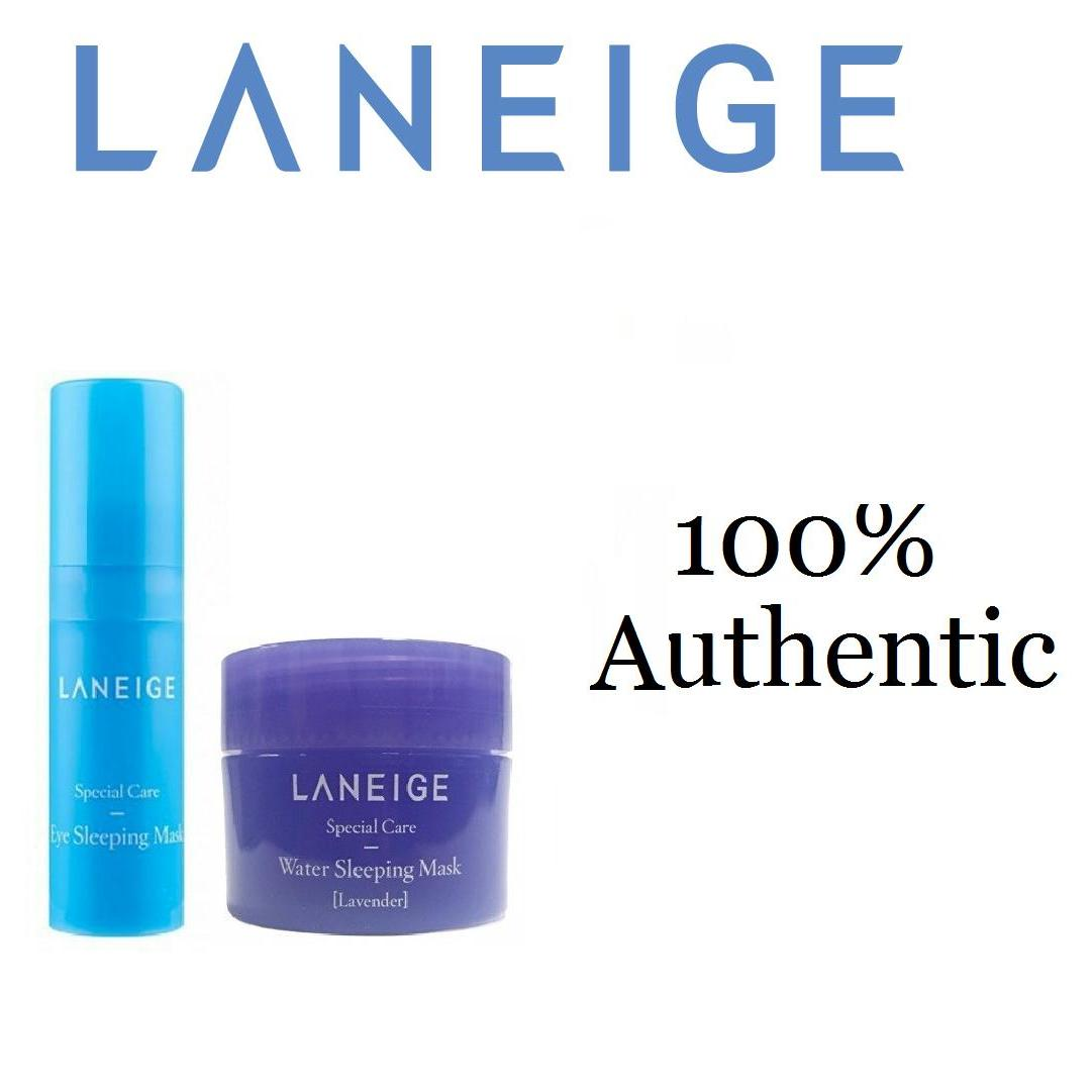 Buy Sell Cheapest Laneige Sleeping Water Best Quality Product Eye Mask Mask5ml With Lavender 15ml Korean