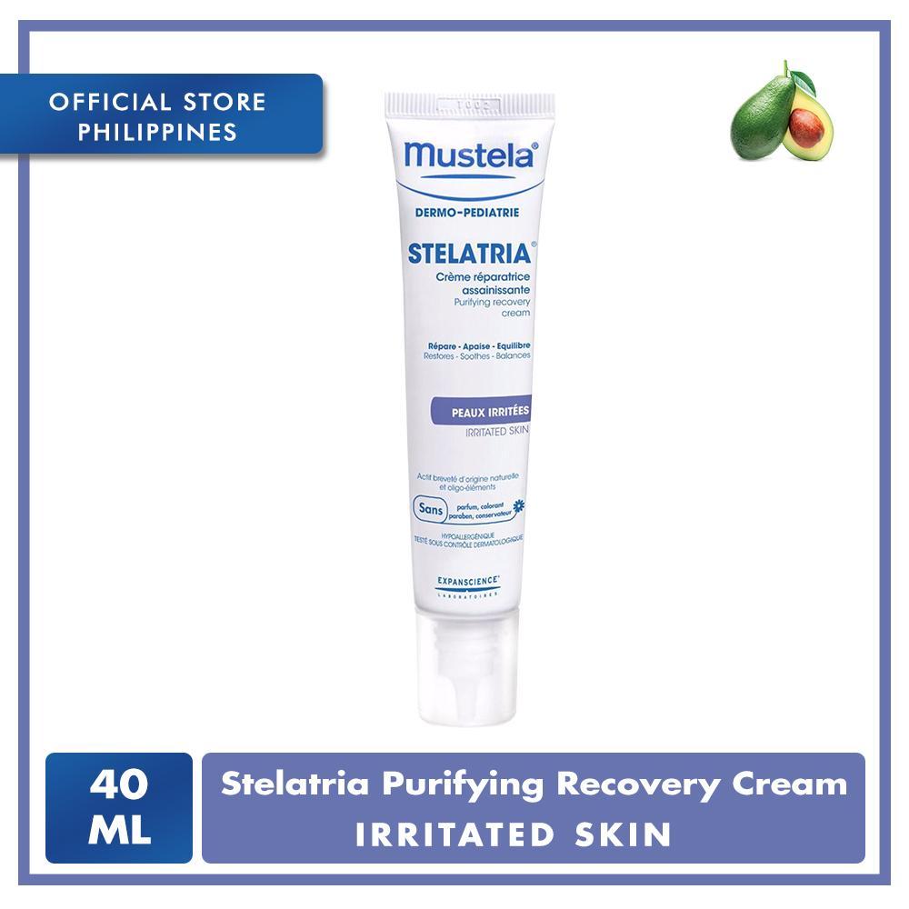 Mustela Stelatopia Emollient Cream 200ml Free Travel Size 10ml Stelatria Purifying Recovery 40ml
