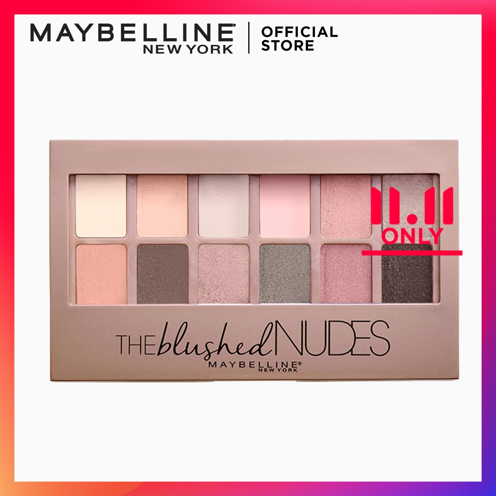 Eyeshadow Brands Pallete On Sale Prices Set Reviews Sixteen Eye Magazine Shadow 16 Brand Maybelline The Blushed Nudes Palette
