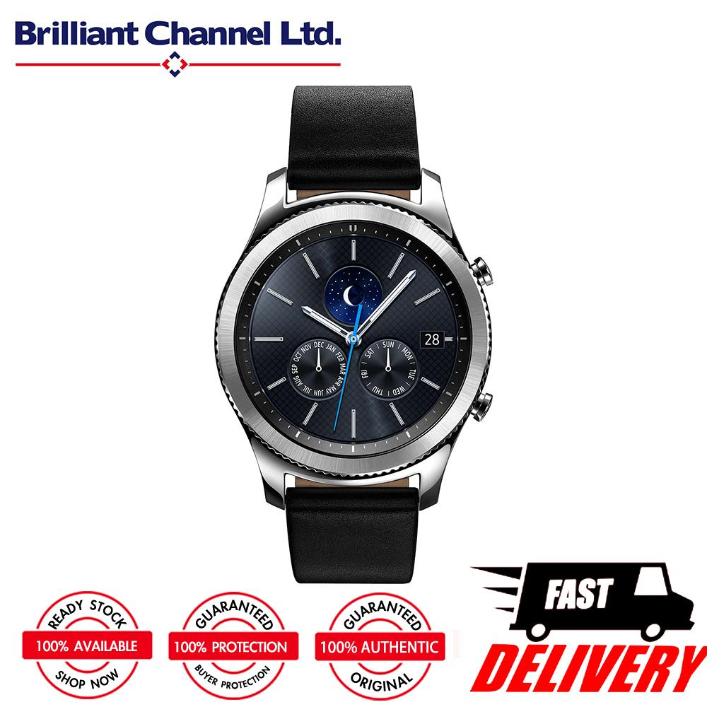100 Brand New Original Samsung Gear S3 Classic SM R770 Smart Watch IP68