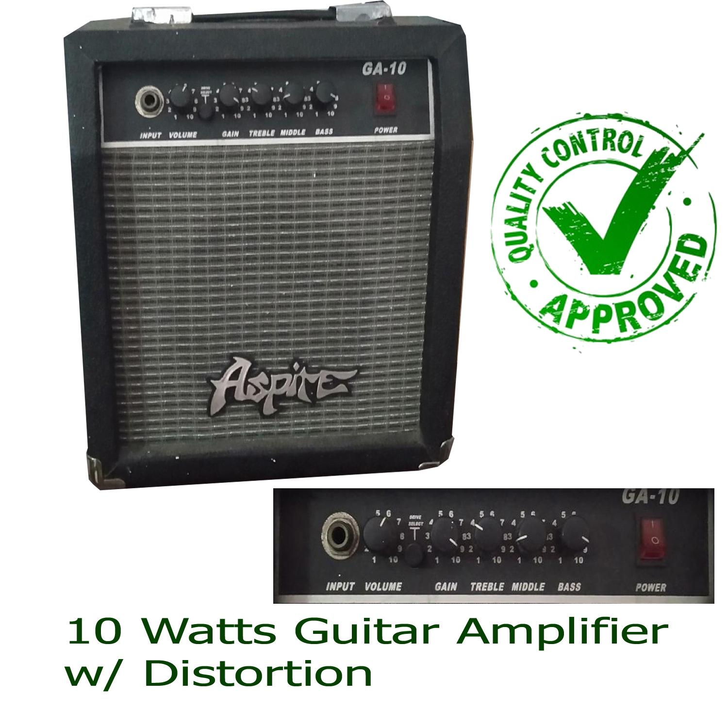 Guitar Amp For Sale Electric Best Seller Prices Cort Bass Wiring Diagram Amplifier Aspire 10watts Ga 10 With Overdrive Alternative Brand To Global