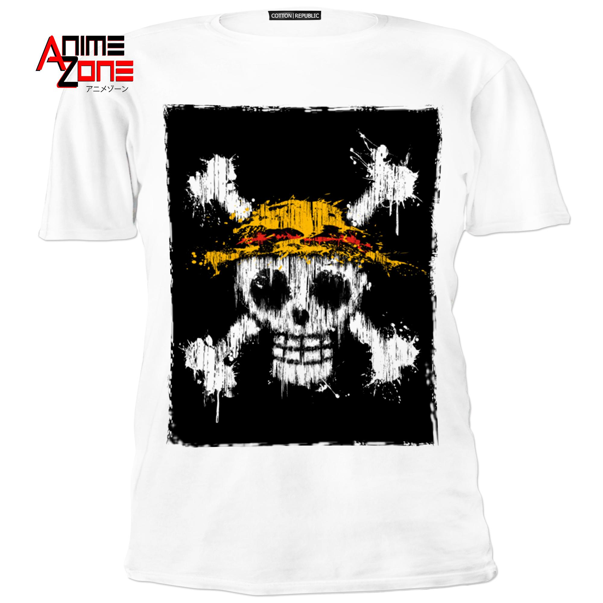 fa99055ca004e Anime Zone One Piece Strawhat Pirates Edition Cotton Printed Unisex T-Shirt